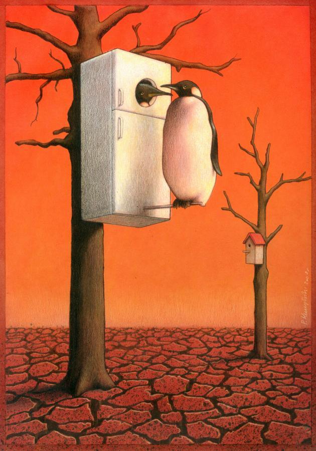 by Pawel Kuczynski, desenhista polonês