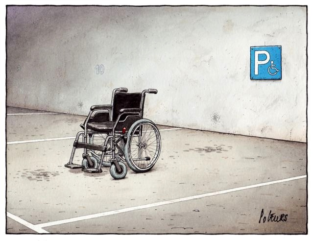 Respeito às regras by Pol Leurs, desenhista luxemburguês