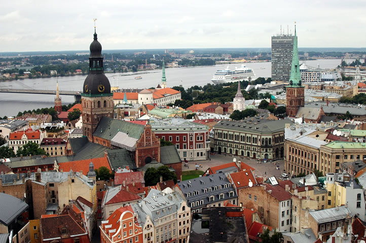 Riga, capital da Letônia