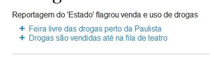 17 fev° 2014 ― Chamada Estadão