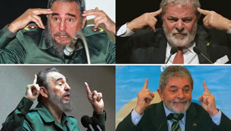 Lula e Fidel