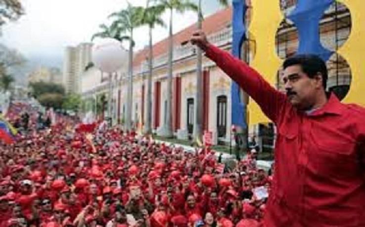 Nicolás Maduro, o opressor