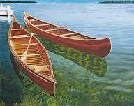 Duas canoas by Liz Zahara
