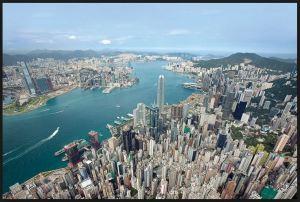 Hong Kong ― vista aérea