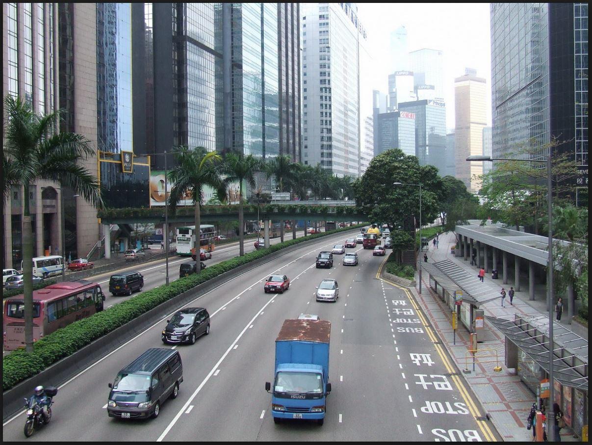 Hong Kong ― bairro de escritórios