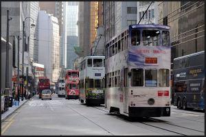 Hong Kong ― bondes de dois andares