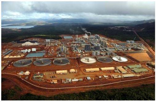 Vale: exploração de níquel Nova Caledônia