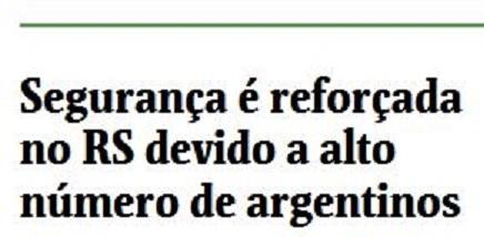 Folha de São Paulo, 25 jun° 2014