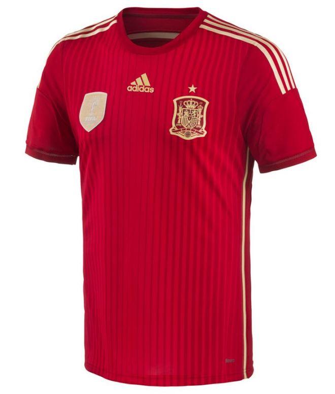 Camiseta da Seleção espanhola
