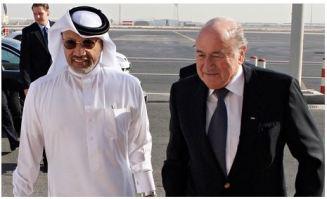 2010: Blatter e um figurão catari