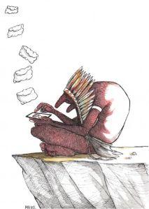 by Silvano Gonçalves Mello, desenhista mineiro
