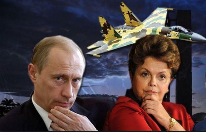 Dilma Rousseff & Vladimir Putin