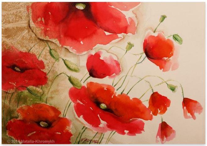 by Natalia Khromykh, artista ucraniana