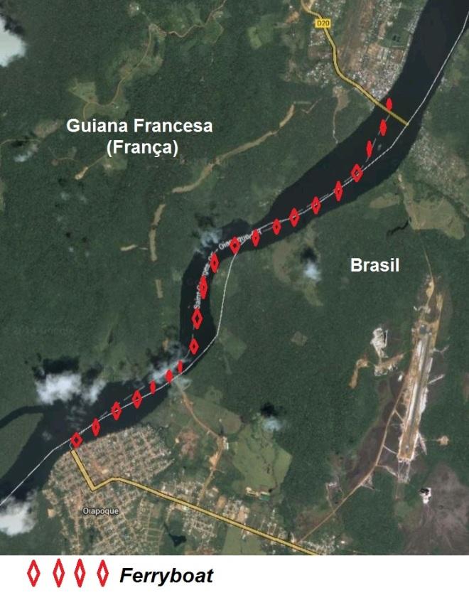 Fronteira Brasil-França (Amapá-Guiana Francesa)