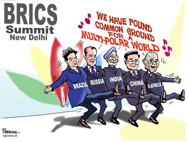 Chegamos a um acordo para um mundo multipolar. by Paresh Nath, desenhista indiano