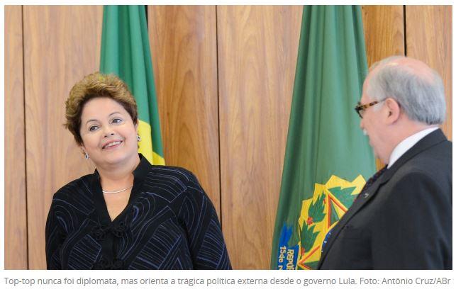 Dilma e Garcia
