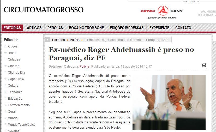 Jornal  Circuito Mato Grosso (CUIABA MT)