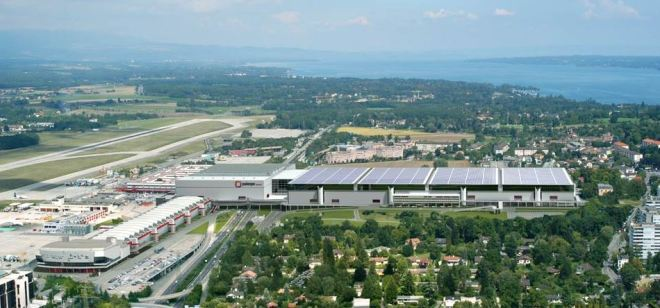 Palexpo - Palácio das Exposições, Genebra