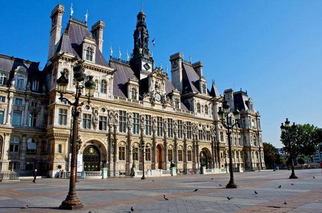 Place de l'Hôtel de Ville nos dias atuais