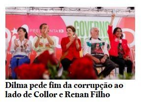 Dilma e a corrupção