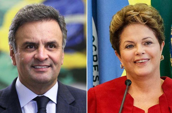 Dilma e Aecio