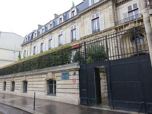 Embaixada do Brasil, Paris