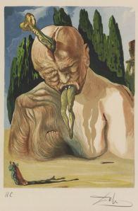 Inferno de Dante by Salvador Dalí (1904-1989), Marquês de Dalí de Púbol