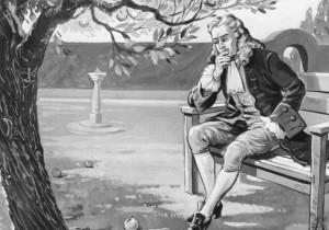 Isaac Newton e a maçã