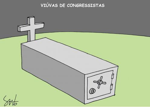 by Santo, desenhista mineiro