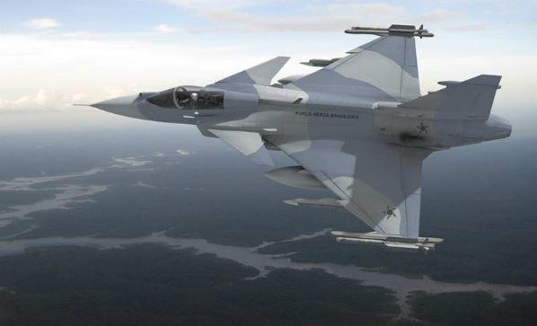 Caça Gripen - foto Saab