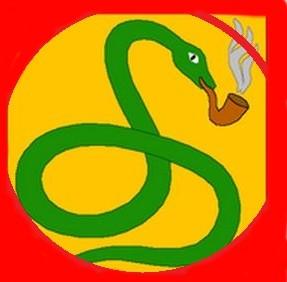 Cobra que fuma