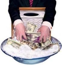 Dinheiro lavagem