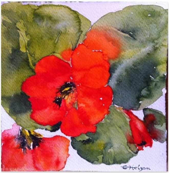 by Ewa Helzen, pintora de Malta
