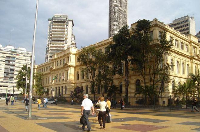 Secretaria da Educação, São Paulo Prédio projetado por Ramos de Azevedo e inaugurado em 1894