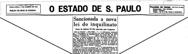 Lei do Inquilinato – versão 29 dez° 1956
