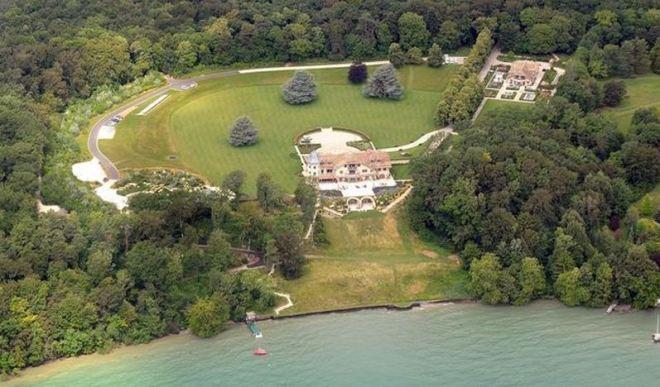 Mansão de Schumacher, à beira do Lago Léman, Suíça