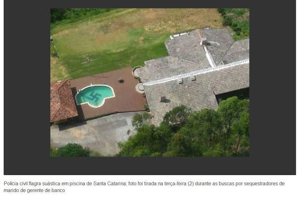 Foto divulgada pela Polícia Civil de Santa Catarina