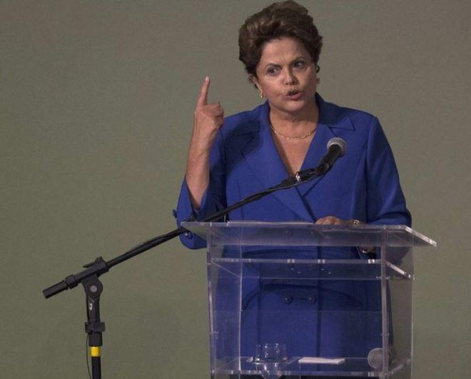 Dilma indignada