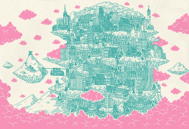 by Kristopher Ho, artista hongkonguês