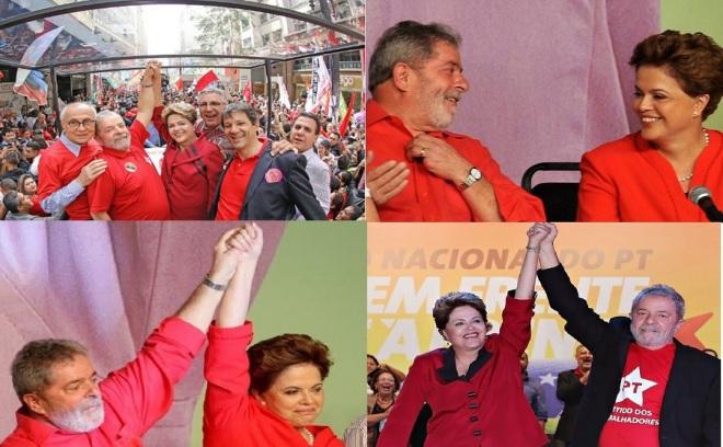 Dilma e Lula 2