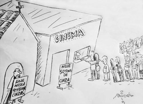 by Moisés de Macedo Coutinho, desenhista paulista
