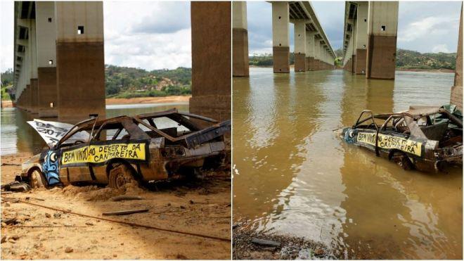 Represa de Atibainha: nível sobe após estiagem