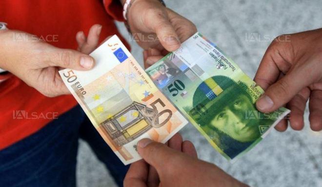Paridade entre euro e franco suíço
