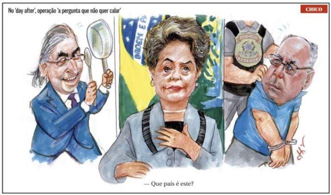 by Chico Caruso, desenhista paulista