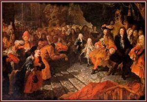 Embaixador da Pérsia apresenta credenciais ao rei Luís XV