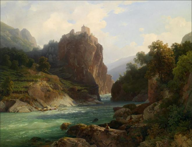 by Thomas Ender (1793-1875), artista vienense