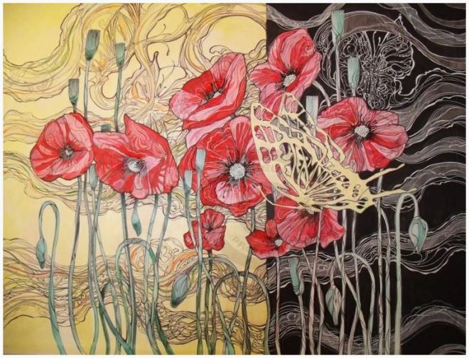 by Irina Setyavina, artista russa