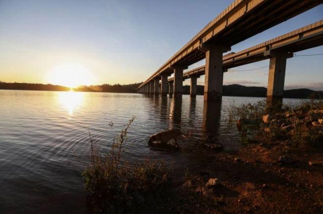 Represa de Atibainha: depois das águas de março