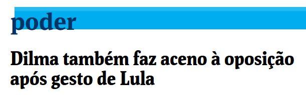 Chamada da Folha de SP, 24 jul° 2015