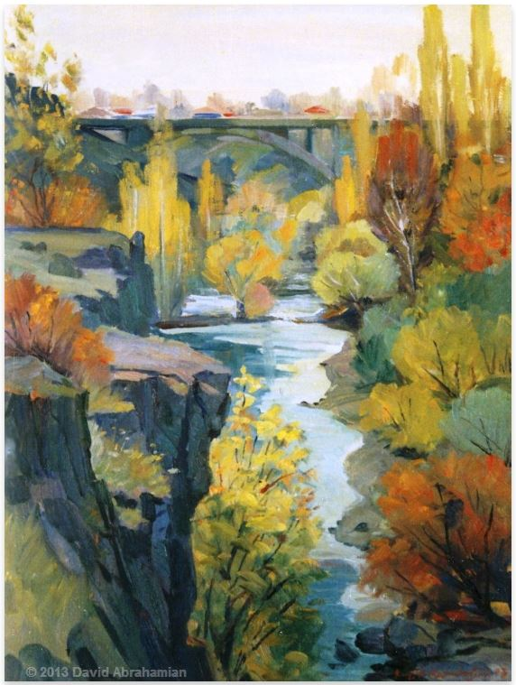 by David Aramaisovich Abrahamian (1952-) artista armênio